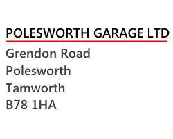 Polesworth Garage Logo