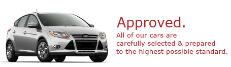 Approved Nearly New Cars
