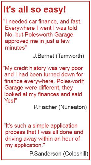 Car Finance Testimonials