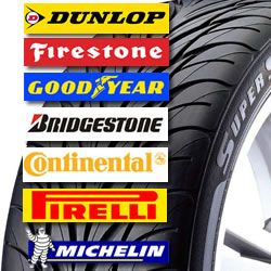 Brand Name Tyres at Great Prices