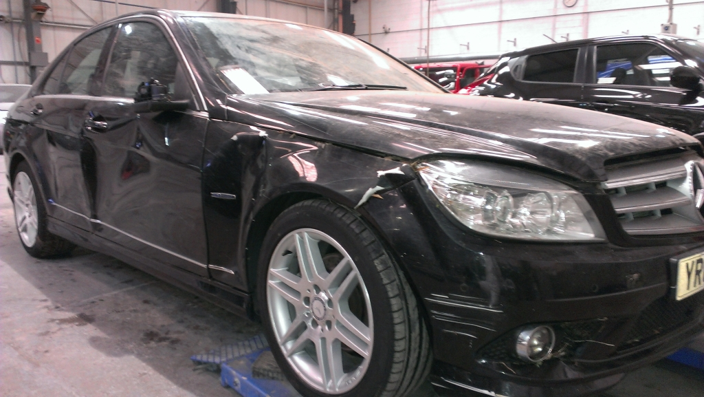 Mercedes Repair - Before