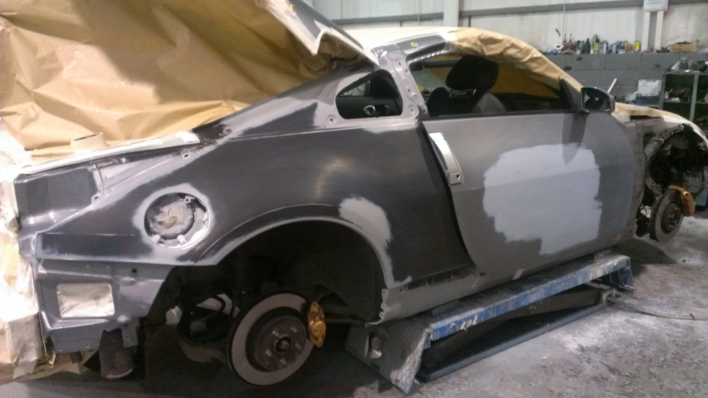 Nissan 370z - Stripped Side
