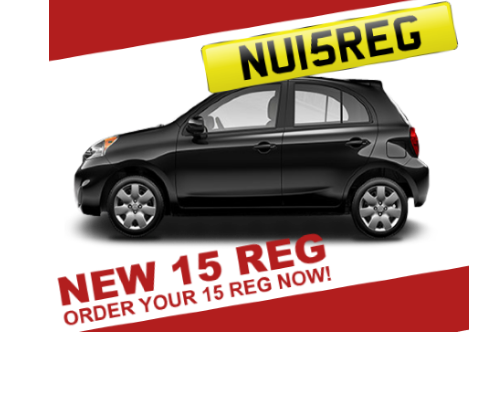 New 2015 Registration Nissan