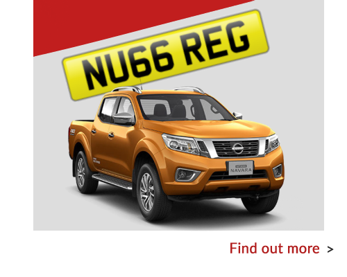 New 66 Reg Nissan