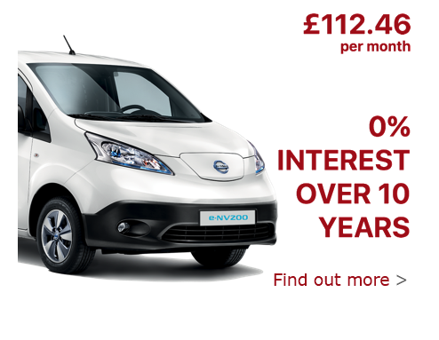 The Nissan ENV200 Interest Free Offer.