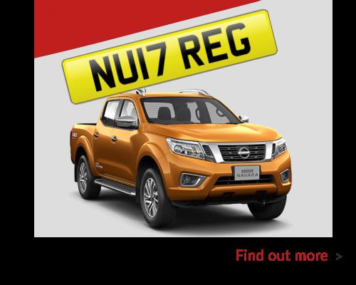 New 17 Reg Nissan
