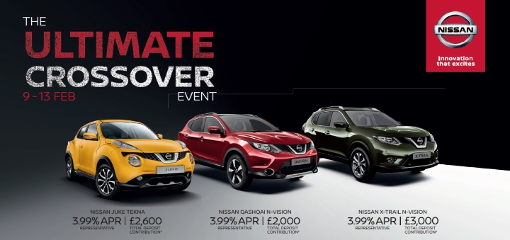 The Nissan Ultimate Crossover Event