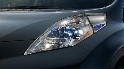 Leaf Black Edition Headlights