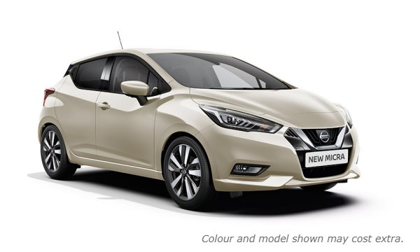 New 2017 Micra in Ivory