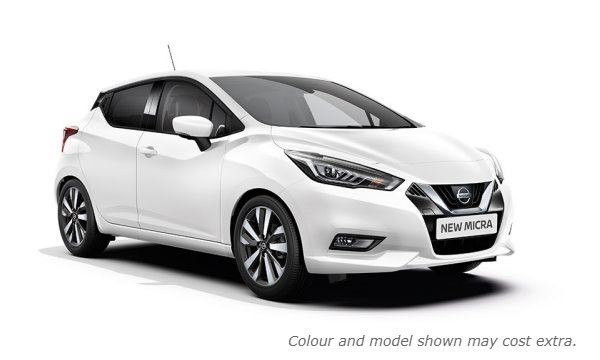 New 2017 Micra in Solid White