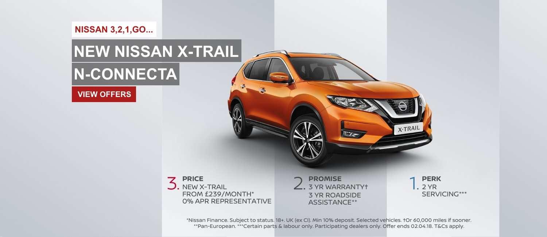 New Nissan X-Trail N-Connecta Slide